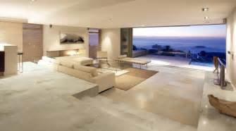 Contemporary Bathroom Suites Uk - a large luxury lounge in a modern beach front house tiled