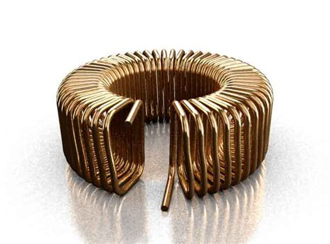 coil inductor design coil32 toroid air coil