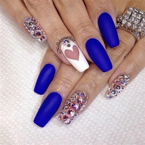 imagenes de uñas de acrilico color azul unas color azul rey 8 curso de organizacion del hogar
