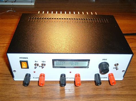 arduino bench power supply variable dc bench power supply i1wqrlinkradio com