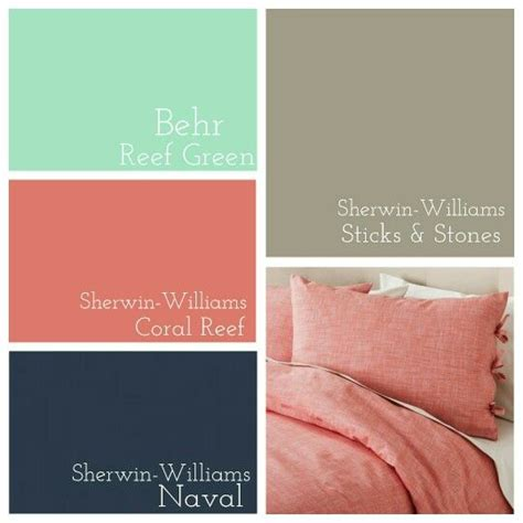 behr paint color cross reference master bedroom behr reef green 187 sherwin williams coral