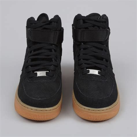 Nike Suede 1 nike air 1 high black suede gum skookumhouse co uk