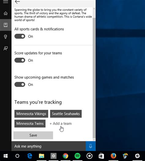how to manage cortana settings on the windows 10 fall how to manage cortana info cards in windows 10