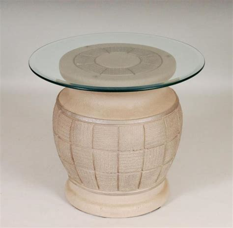 Pottery Base Table Ls by Ceramic Table Base W Glass Top