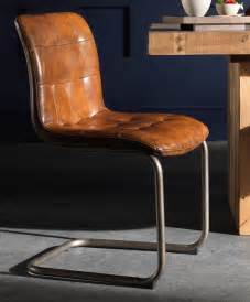 vintage leather chair as a dining or office chair
