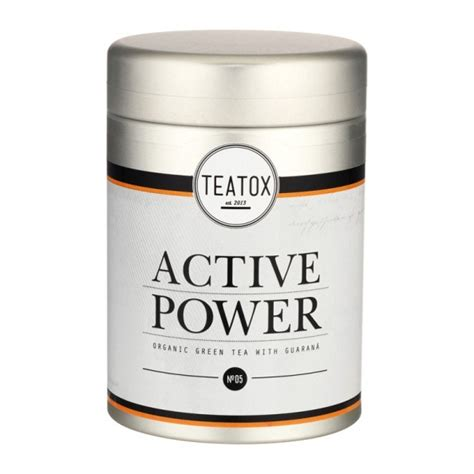 Detox Cleansing And Revitalizing Tea by Teatox Power Detox Revitalizing Fitness Tea Mit Guarana