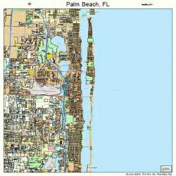palm florida map 1254025