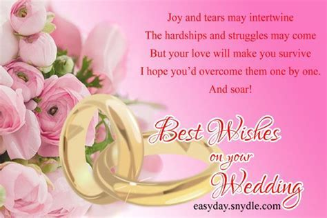 12 Wonderful Wedding Wishes Messages Pictures
