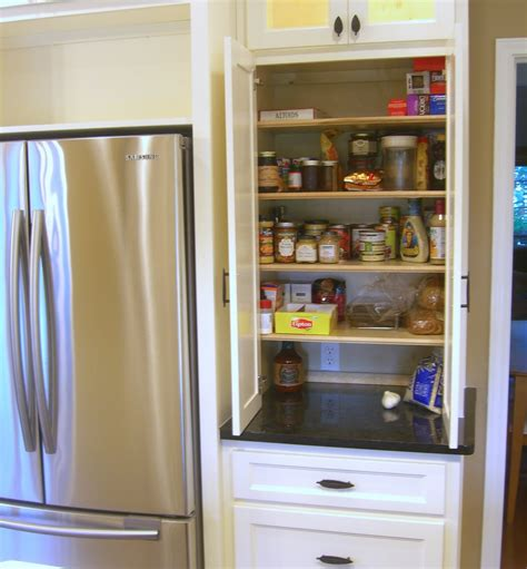 Pantry Depth by Pantry Next To Counter Depth Fridge Zessn Kitchens