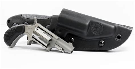 knife revolver american arms 22 mag mini revolver with crkt gut