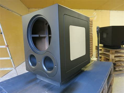 dual eminence lab portedsealed page  home theater
