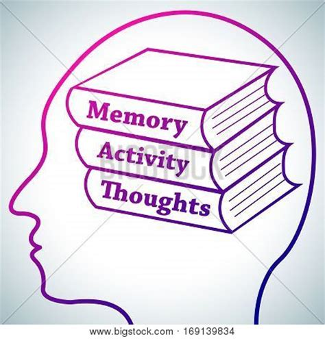 brain 2 manuscripts photographic memory memory books human brain vectors stock photos illustrations bigstock