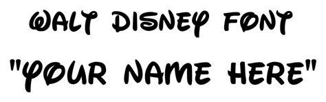 12 disney truetype font images disney fonts walt disney
