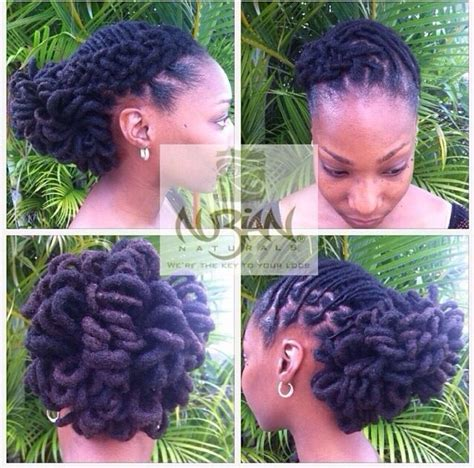 formal updos for locs 353 best african american locked formal and informal