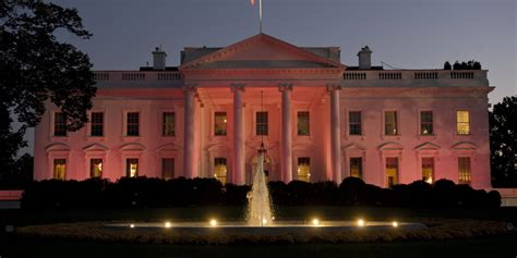 white house facebook white house goes pink for breast cancer awareness month photo