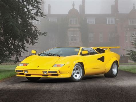 yellow lamborghini countach 1989 lamborghini countach yellow frenchy410 1989