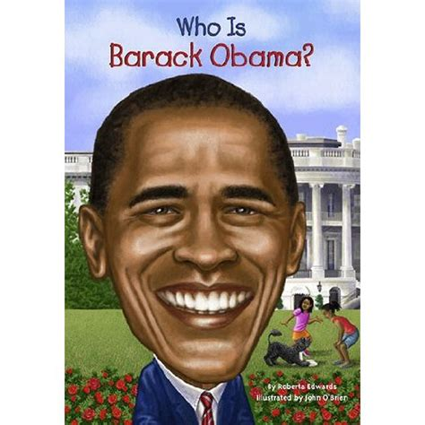 obama picture with book propaganda book on obama called who is barack obama
