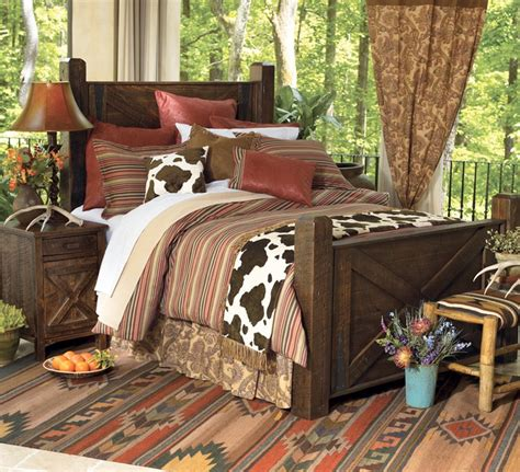 Set Of Two Bedroom Ls by More Crows Nest Trading Southwest Bedding For The