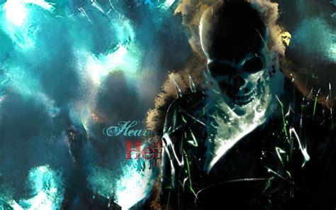 ghost background blue ghost rider wallpaper wallpapersafari
