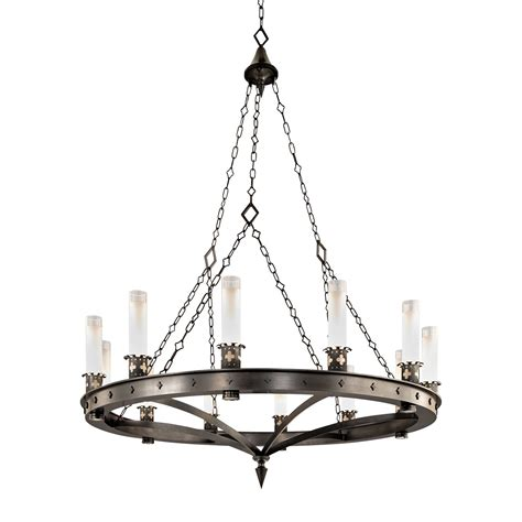 Artisan Chandelier Artisan Skellig Ring Chandelier Crenshaw Lighting