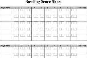 bowling score sheet template score sheet free premium templates forms