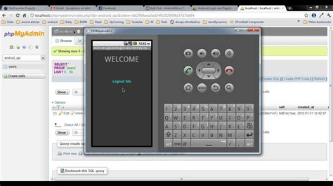 tutorial php sqlite android login and registration with php mysql and sqlite
