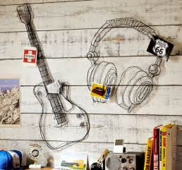 Music Wall Decor by Wire Music Decor Kid Crave