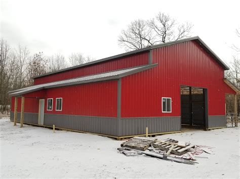barn colors choosing pole barn colors milmar pole buildings