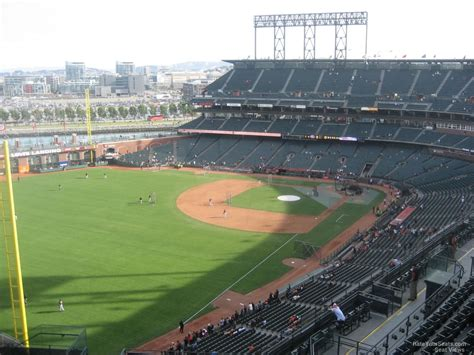 best seats att park view level outfield at t park baseball seating