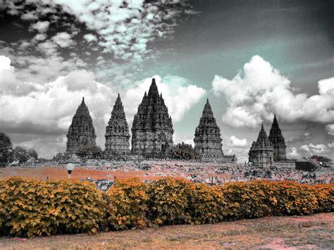 background jogja prambanan temple indonesia wallpaper hd wallpapers