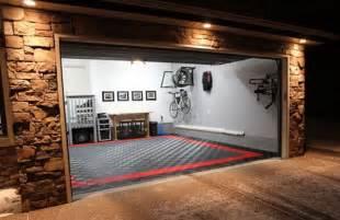 Cool Garage Floors Cool Garage Flooring Home Garage Shop Shed