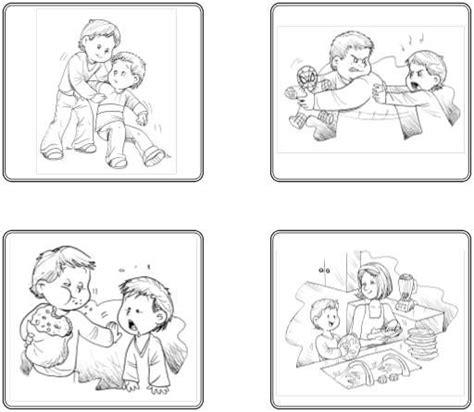 imagenes biblicas evangelicas para colorear acciones malas y buenas para colorear imagui emociones