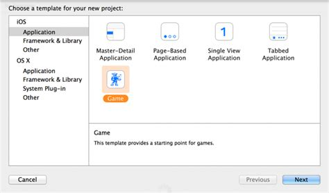 xcode ios project templates kit tutorial getting started