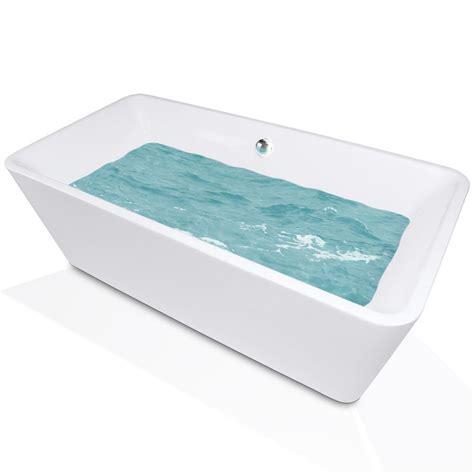 5 foot freestanding bathtub maax lounge 5 3 ft freestanding reversible drain bathtub