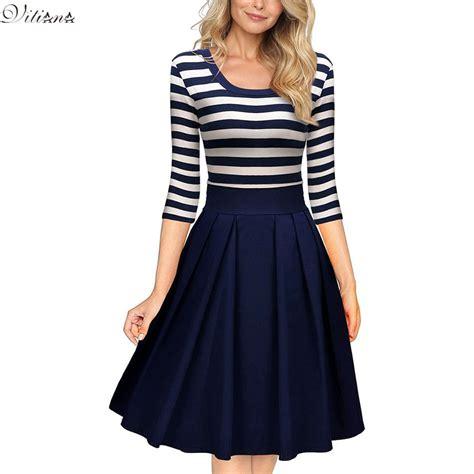 Autumn Casual Dress 25 vitiana slimming clothing autumn casual striped bodycon dress striped patchwork o neck