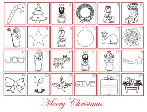 printable colour in advent calendar free advent coloring calendar children s ministry deals