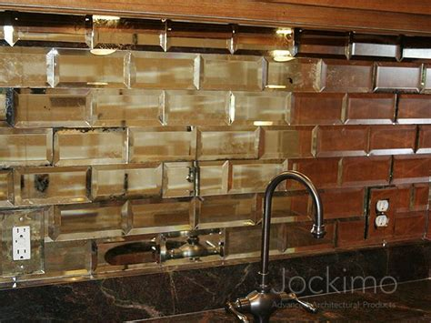 mirrored subway tiles jockimo mirror subway tiles kitchen remodel complete tile subway tiles and mirror