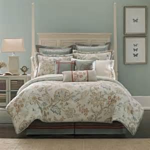 croscill retreat queen comforter set aqua