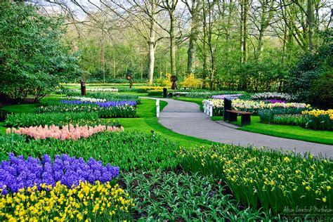 Keukenhof Spring Tulip Gardens Lisse The Netherlands Netherland Flower Garden