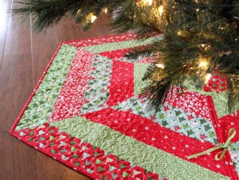 Patchwork Tree Skirt Pattern - tree skirt patterns quilted quilts