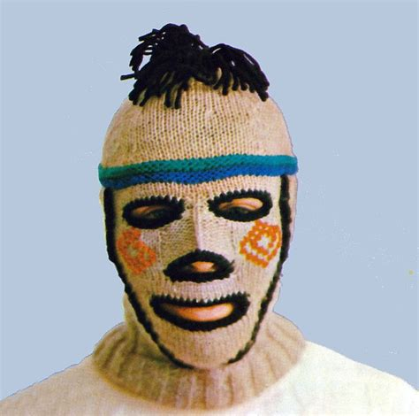 knit ski mask vintage knitting pattern creepy balaclava ski mask helmet
