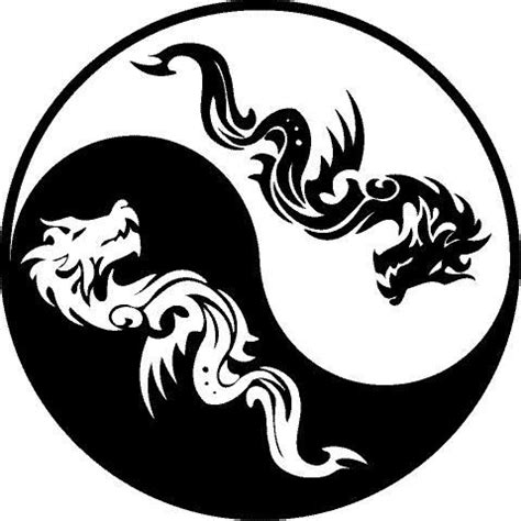 yin yang dragon tattoo designs yin yang images designs