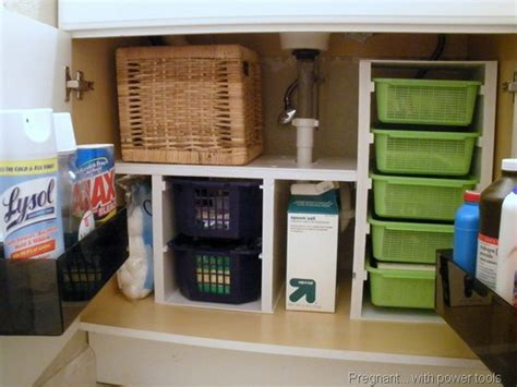 under the bathroom sink storage solutions our forever house 31 days to a functional kitchen day 6