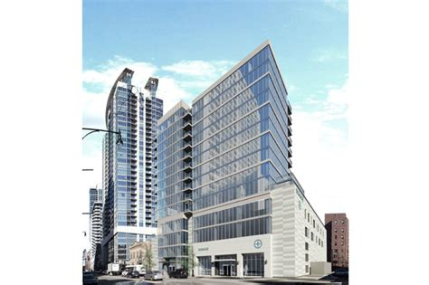Apartments In Chicago On Michigan Ave Basketball Court Planned For New 15 Story Apartment Tower