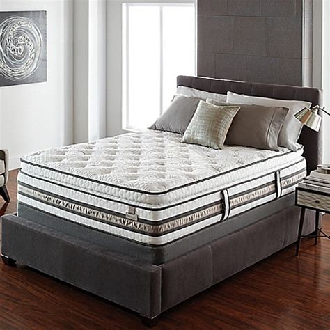 twin bed pillow top buy serta 174 iseries 174 merit super pillow top twin xl