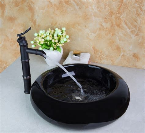 black bathroom sink drain ayers black ceramic bathroom sink rubbed bronze pop