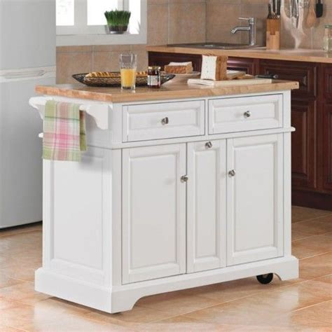 small kitchen islands on wheels white kitchen island on wheels lovely with wheels white