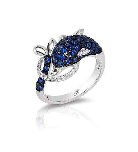 14k white gold black sapphire ring