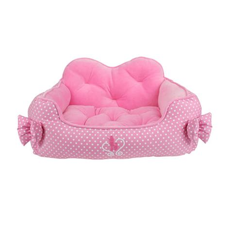 pink dog house bed premium house dog bed by pinkaholic pink baxterboo