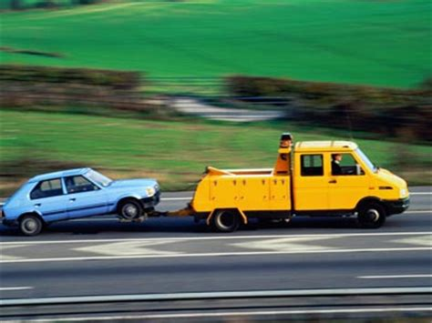How Much To Get Car Towed To A Garage by Securing A Car For Towing Howstuffworks